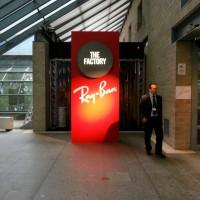 Ray-Ban イタリア新作展示会